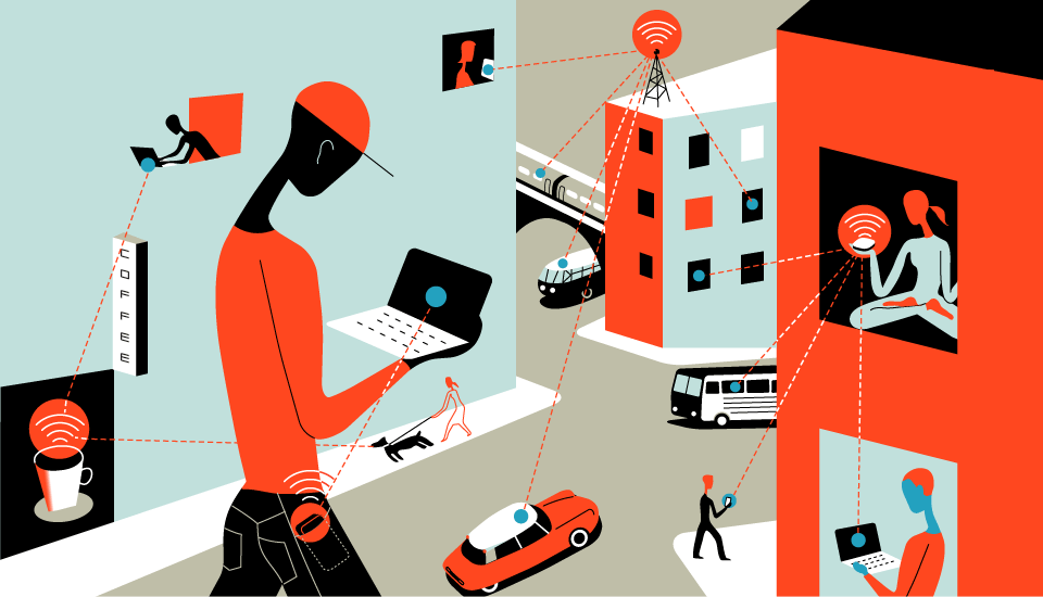 mobile hot spots / the new york times