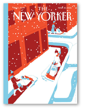 New Yorker illustrations by Otto Steininger for sale